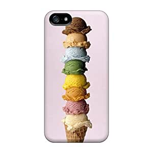 Premium Ice Cream Back Cover Snap On Case For Iphone 5/5s