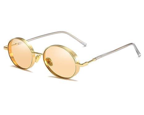 ASDF Gafas de Sol Redondas pequeñas de la Vendimia, Gafas de ...