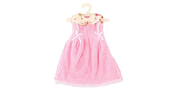 Amazon.com: eDealMax Baño Cocina colgar de la pared del Estampado de Flores Collar en Forma de Vestido de paño de la toalla de Mano rosa: Home & Kitchen