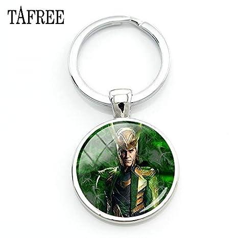 Amazon.com: Mct12-1 - Llaveros de Loki con diseño de Dios de ...