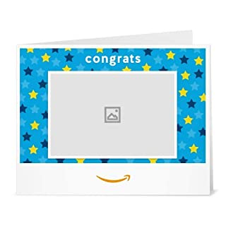 Amazon Gift Card - Congrats Stars (Your Upload) (B01LWOK1A5) | Amazon price tracker / tracking, Amazon price history charts, Amazon price watches, Amazon price drop alerts