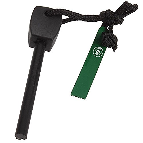 Fire-Starter-Magnesium-Fire-Starter-Survival-Kit-Flint-Striker-Bar-Ferro-Rod-Ferrocerium-With-Metal-Knife-Rod-Emergency-Quick-Fire-Starters-Survival-Kit-Camping-Tool-Black-Green