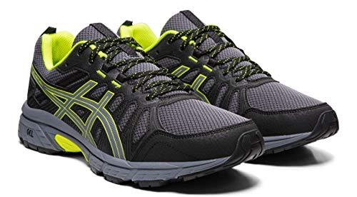 ASICS Gel-Venture 7 Men's Running Shoes, Metropolis/Safety Yellow, 11 M US