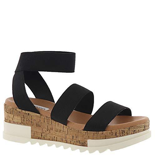 Steve Madden Womens Bandi Black Sandal - 7.5