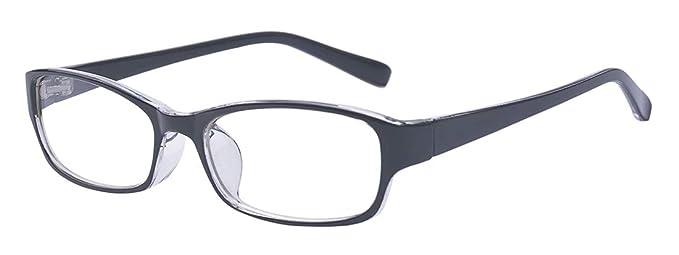 Outray - Gafas rectangulares para niños y adolescentes Negro ...