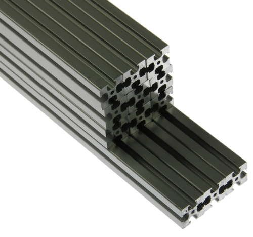 Kossel Legacy (Non-Standard Mini) Aluminum Extrusion Kit Clear Silver Colored DIY 3D Printer Parts RepRap