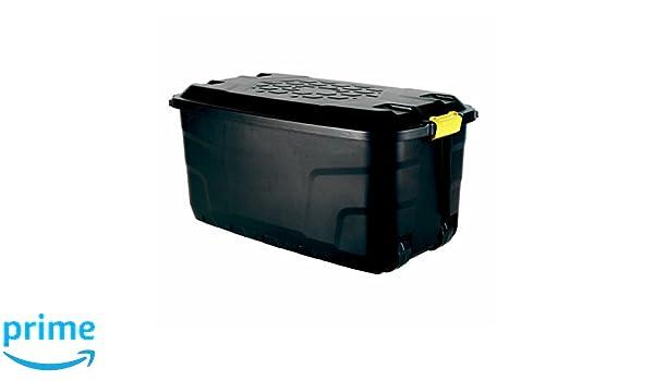 Bentley Garden - Caja de herramientas con ruedas (plástico, 125 l): Amazon.es: Jardín