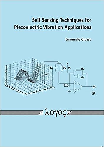 Self Sensing Techniques for Piezoelectric Vibration