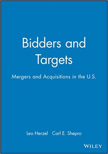 Read Bidders and Targets: Mergers and Acquisitions in the U.S. PDF, azw (Kindle)