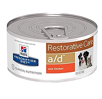 Hills AD Canine/Feline a/d (Lata) 156 grs. PD - Prescription Diet Perros y Gatos: Amazon.es: Productos para mascotas