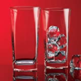 Red Series Square Highball Glass (Set of 4)