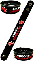 Good Charlotte American Pop Punk Rock Music Band Logo Sign Rubber Silicone Bracelet Wristband by BEST EXPO