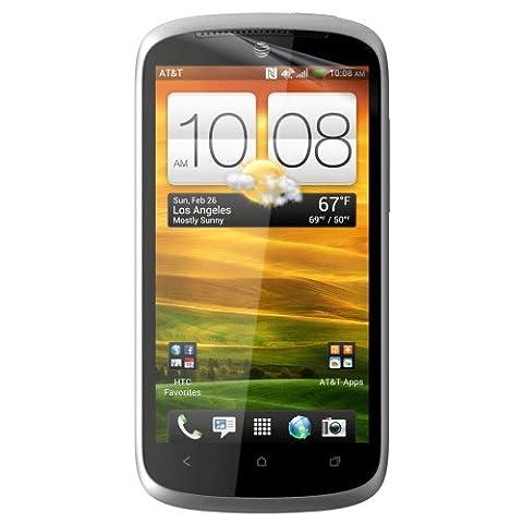 3-Pack EZGuardZ© HTC ONE VX Screen Protectors (Ultra CLEAR) (Screen Protector Htc One Vx)