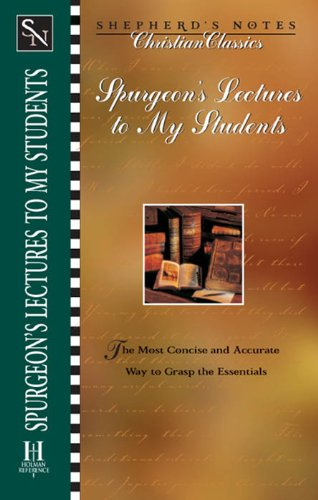 Shepherd's Notes: Lectures to My Students