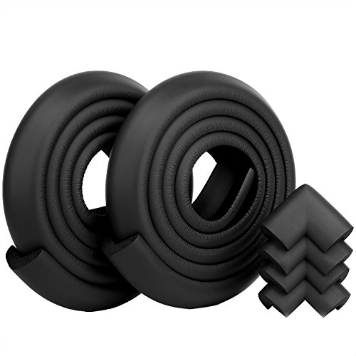 Excgood Proofing Baby Proofing Protection Corners Black product image
