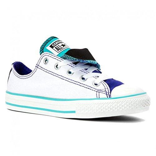 Converse Damen Woman Sneaker Chuck Taylor All Star ** CT AS Double Tongue white *** 647661F Canvas