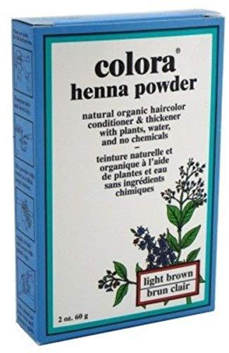 - Colora Henna Powder, Light Brown