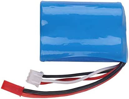 Innovateking 7.4V 1100mAh Battery 15C JST Plug with USB Charger for RC Car Boat Spare Parts Accessories