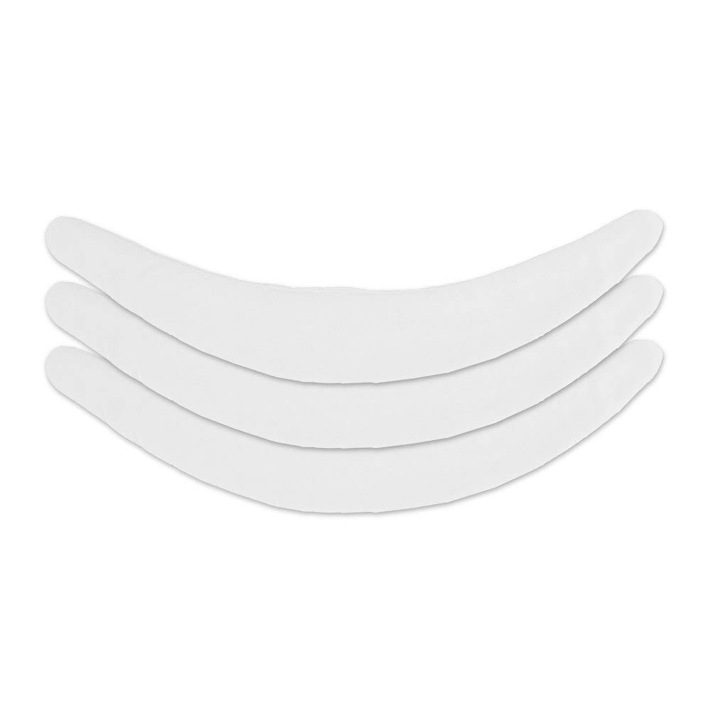 Cotton Tummy Liner (3-Pack, Small, White)