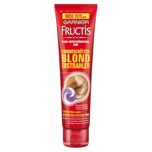 Garnier Fructis Farbbeschützer Blond Erstrahler, 1er Pack (1 x 150 ml)