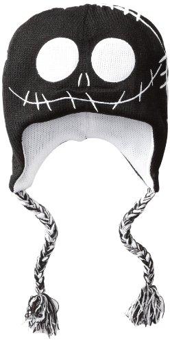 Nightmare Before Christmas Jack Reversible Laplander Beanie Hat