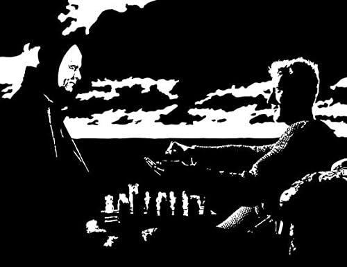 The seventh seal Ingmar Bergman vintage movie poster print