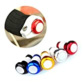 Bicycle Handlebar Light Cycling LED Bar End Plugs Safety Signals ( Gold )
