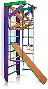 Barras de Pared para escaleras suecas, para Gimnasio, Gimnasio, Complejo Deportivo de Gimnasia: Amazon.es: Deportes y aire libre