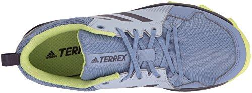 adidas outdoor Women's Terrex Tracerocker W Trail Running Shoe, Aero Blue/Trace Purple/Semi Frozen Yellow, 8 M US by adidas outdoor (Image #7)