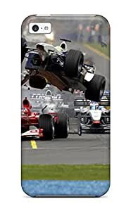 New Arrival Cover Case With Nice Design For Iphone 5c- Vehicles Racing
