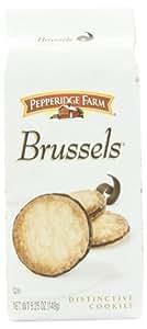 Pepperidge Farm Brussels Cookies, 5.25 Ounce (4 Bags)