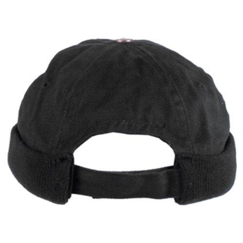 Bonnet Docker Casquette Sans Visiere Noir Coton Amazon.fr Sports et  Loisirs