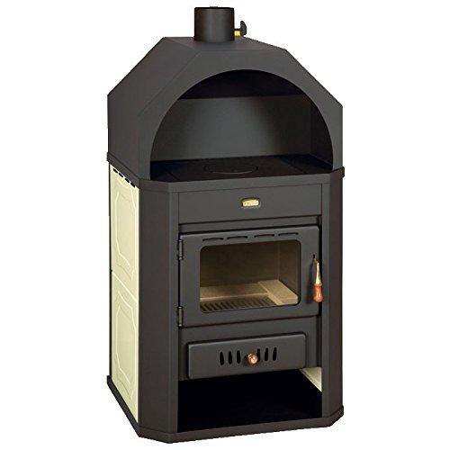 Caldera de leña estufa Prity, Modelo W17, salida de calor 23 kW, en forma de arco: Amazon.es: Bricolaje y herramientas