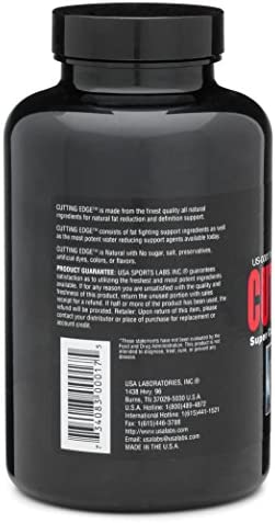 Cutting Edge - Natural Diuretic for Muscle Definition and Weight Loss with L-Carnitine, Green Tea Concentrate, Vitamin B-6 and Potassium - 120 Count 3
