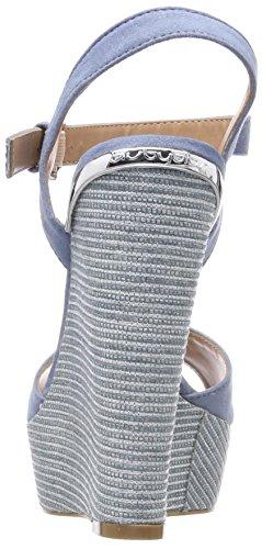 Caviglia Wedge Byblos con alla Sandali Donna Cinturino Covered Turchese Azzurro AY7PqP1w