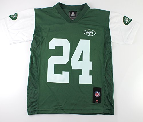 Jets New York Jersey (Outerstuff Darrelle Revis New York Jets #24 NFL Youth Alternate Mid-Tier Jersey Green (Youth XLarge 18/20))