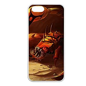 Skarner-003 League of Legends LoL case cover for Apple iPhone 5/5S - Rubber White