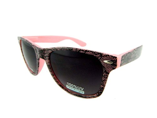 New Promotional Wayfarer Retro Sunglasses With Spring Temple - Black Lace - Business Risky Sunglasses Cruise Tom