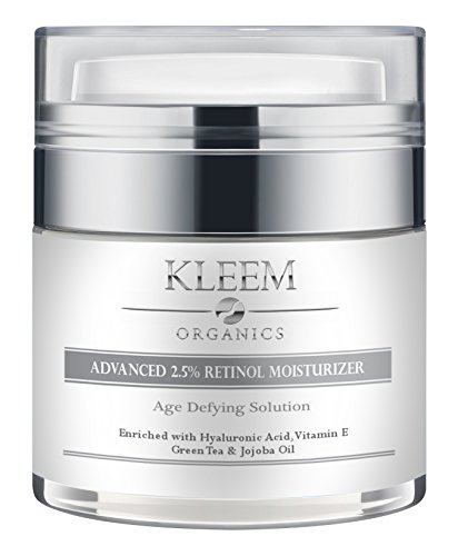 Anti Aging Retinol Moisturizer Cream: for Face and Eye Area with 2.5% Retinol and Hyaluronic Acid....