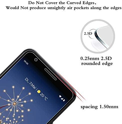 9H Durezza, Anti-graffio Film Ultra Resistente per Huawei P30 Lite 2 Pezzi NBKASE P30 Lite Protezione per Schermo Vetro Temperato,