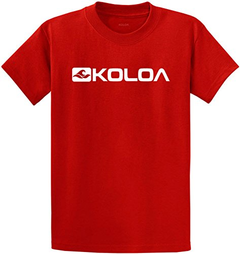 New Koloa Surf Side Logo Heavy Cotton T-Shirts in Regular, Big and Tall