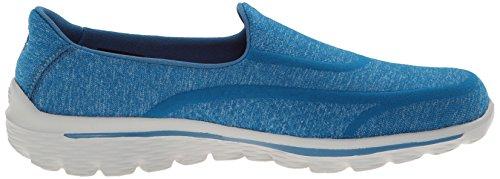 Skechers 13955 - Super Sock - Zapatillas de deporte, Mujer, azul, Blue 2