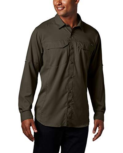 Columbia Men's Silver Ridge Lite Long Sleeve Shirt, Peat Mos
