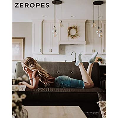 ZeropesAntiBlisterNoShowRunningSocksWomenandMenKidsAthletic (1Pair): Clothing