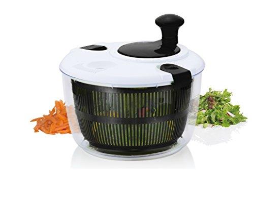 Brilliant - Salad Spinner Vegetable Dryer, Black