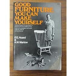 Good Furniture You Can Make Yourself