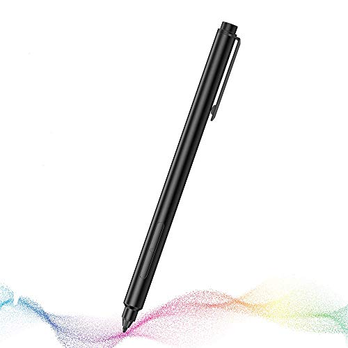 KINGONE Stylus Pen with 1024 Levels of Pressure Sensitivity for Sur-face Pro 5/6/7/GO, Sur-face Book, Sur-face Laptop/Studio with 4A Batteries & 2 Pen Tips