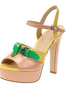 Ch   Ch Zapatillas mujer – Sandalias Zapatos Tacón – vestir Casual planeta 119b7a3626c1