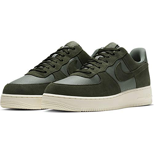 - Nike Men's Air Force 1 '07 1, Mineral Spruce/Ivory (US 9.5, Mineral Spruce/Mineral Spruce-Pale Ivory)