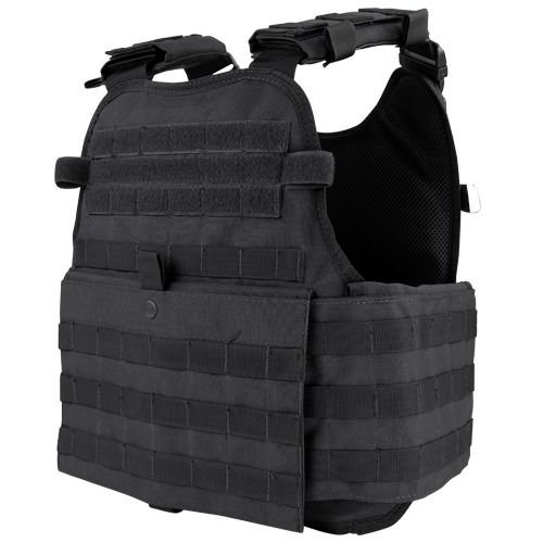 Condor Outdoor MOPC Gear Vest LBE Tactical Molle (Black ) (Condor Outdoor Tactical)